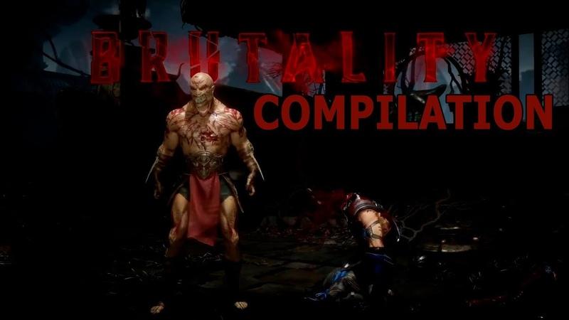 Mortal Kombat 11. All Brutality Compilation