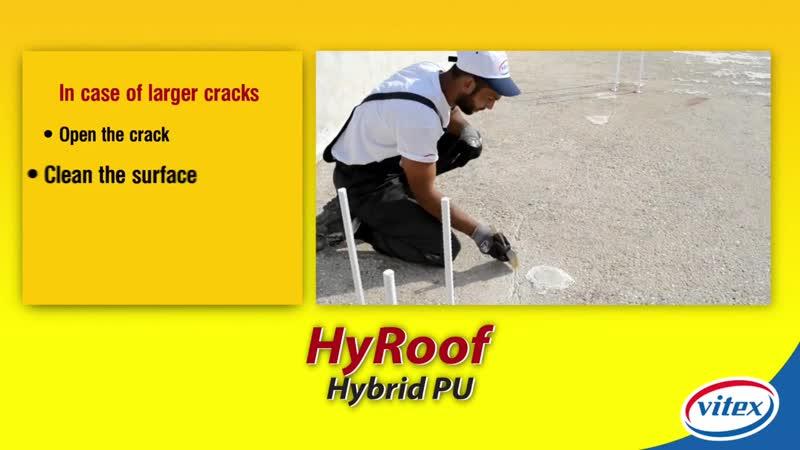 HYROOF HYBRID PU Waterproofing Roof Coating JO2p1XRMjWw
