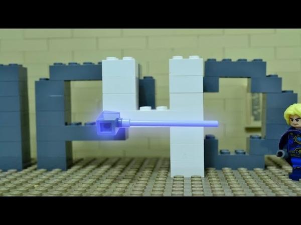 Как делать LEGO мультики Летящие и падающие объекты Урок 4