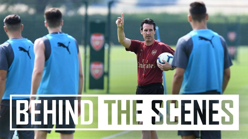 EXTENDED TRAINING FOOTAGE | Goals, sweat and hard work