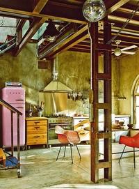 vintage industrial decor - 736×996
