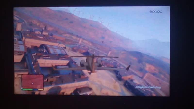 GTA V Wasted And BOOM 562 Executive Plane Crash