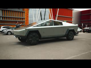 Tesla Cybertruck в Липецке