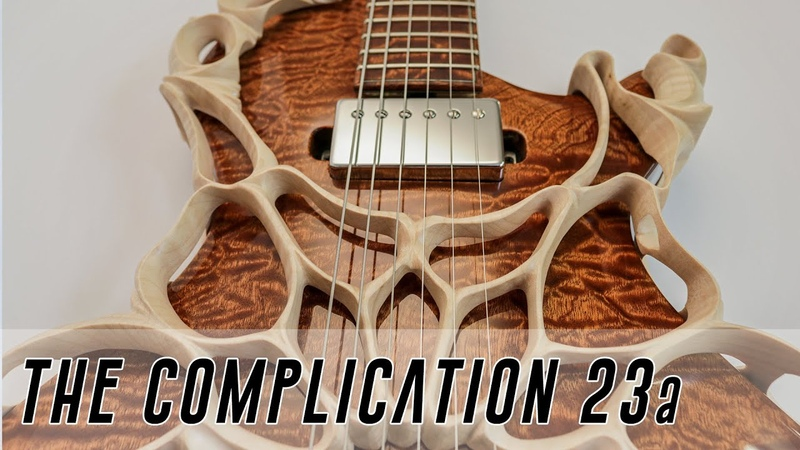 Making a CRAZY Custom Guitar - the Most Complex electric Guitar Ever? Full Build pt 1