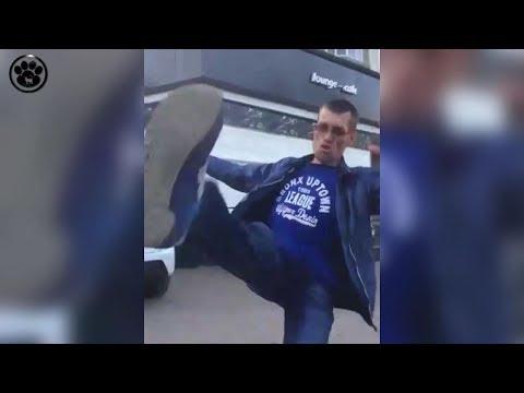 Мужик навалял всем Пьяный мастер Реальный мастер Кунг фу