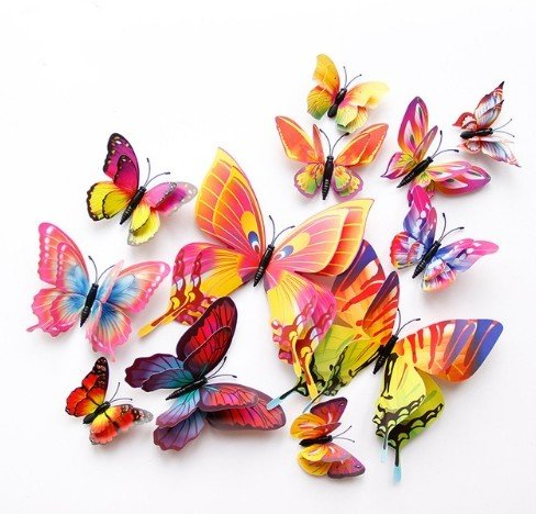 3D бабочки за 129
