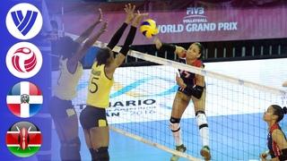 Dominican Republic vs. Kenya - Full Match | Group 2 | Women's Volleyball World Grand Prix 2016