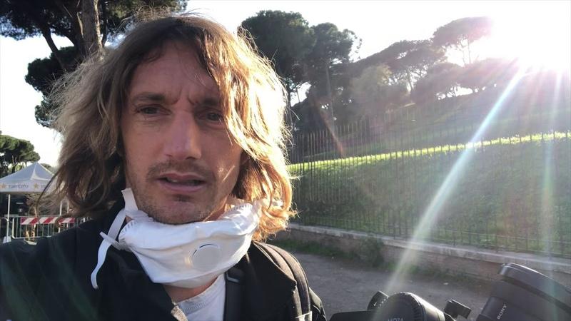 Filmare Roma deserta durante il Lockdown da Covid19 censurato e ricaricato