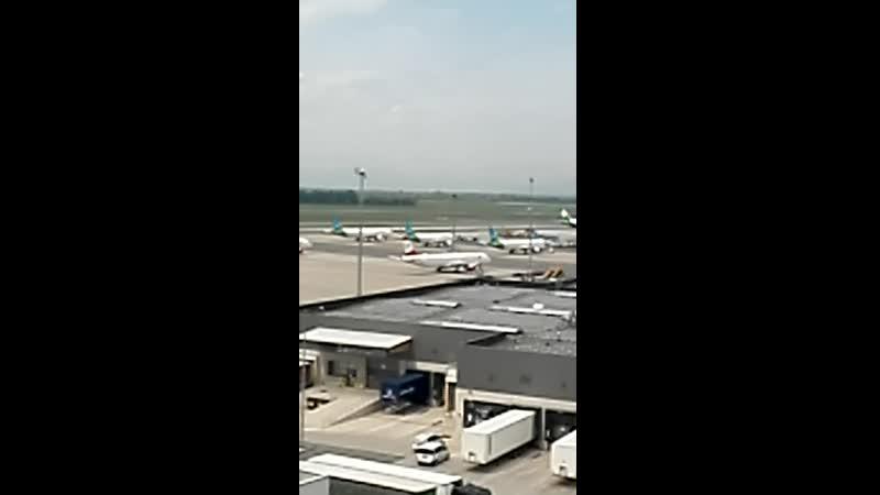 Боинг 747 взлет VID 20200724 102254