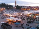 Jamaa el Fna Square in Marrakech, Morocco
