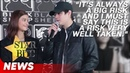 Liza Soberano and Enrique Gil's speech! | Alone/Together Thanksgiving Lunch | Star Bits