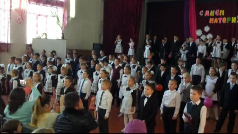 Видео из фотографий коллективов 2 4 классов МБОУ СОШ с Орлик Наша школьная семья
