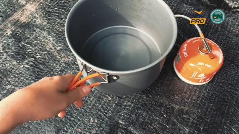 Как приготовить обед на горелке