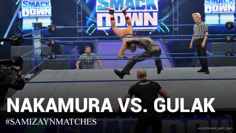 Sami Zayn El Generico Fan Page Накамура с Зейном и Сезаро против Гулака с Браяном