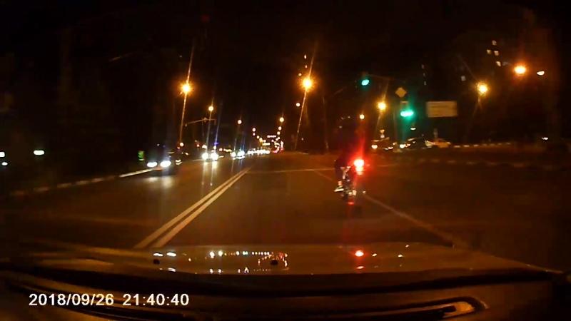 «Сохрани себе жизнь!». Погоня за мотоциклистом в Белгороде