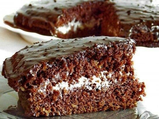 """Безумно вкусный и нежный Торт """"Южная ночь"""""""