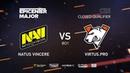 Natus Vincere vs Virtus.pro, EPICENTER Major 2019 CIS Closed Quals , bo1 [4ce Lex]