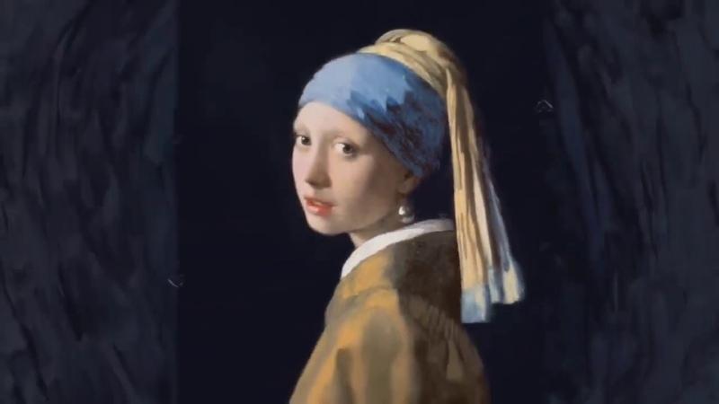 История одного портрета Ян Вермер Девушка с жемчужной серёжкой