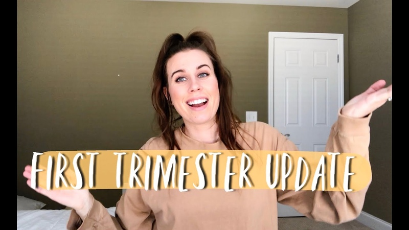 First Trimester Pregnancy Recap Bump Shot