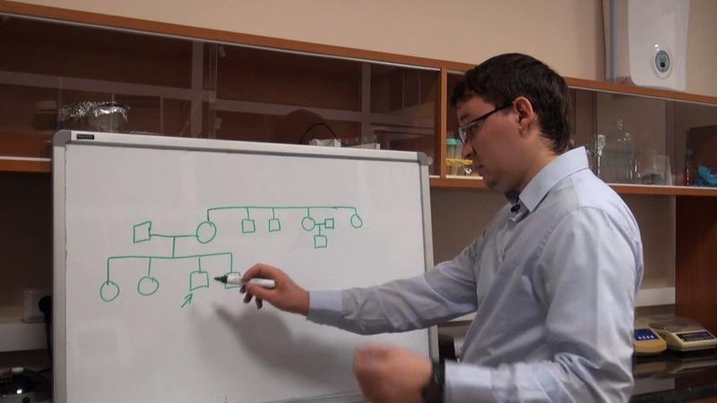 Анализ родословных Урок 3 Задача 7 1 быстрый разбор в конце видео