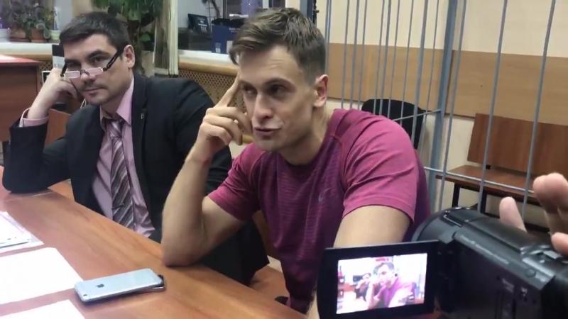 Петр Верзилов @gruppa voina рассказывает про милицанеров и акцию в Лужниках
