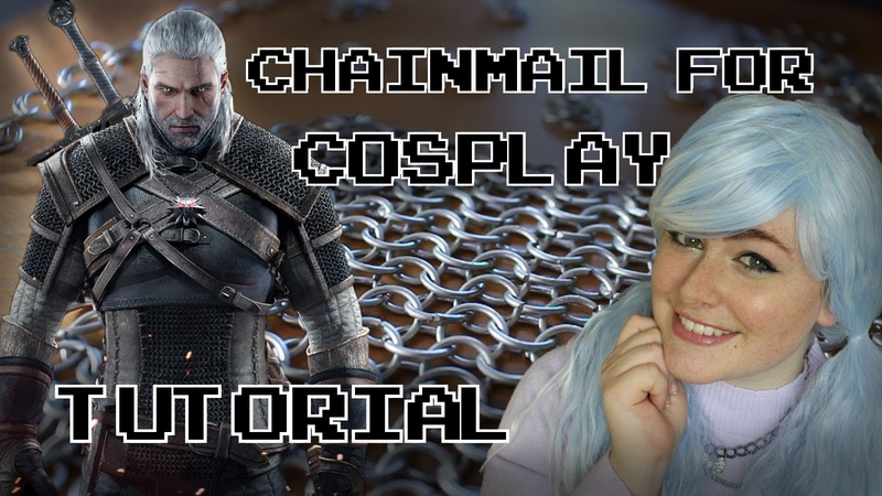 Chainmail Tutorial for Cosplay!! [DIY]