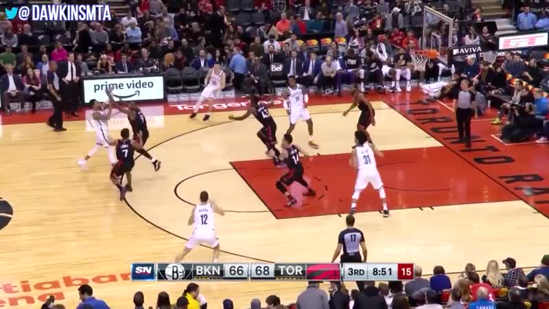 D'Angelo Russell Full Highlights Raptors vs Nets 28 Pts 14 Asts 7 Rebs