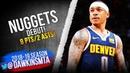 Isaiah Thomas Nuggets DEBUT 2019.02.13 vs Kings  - 8 Pts in Injury RETURN! | FreeDawkins