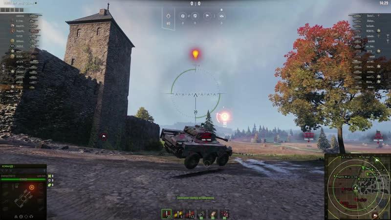 World of Tanks нарезка 4
