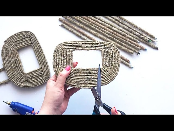 DIY 2 Ideas of Jute Wicker Basket Jute idea Paper craft