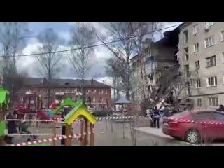 В Орехово-Зуево произошел хлопок газа