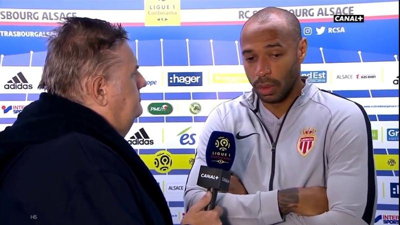 Thierry Henry : Réaction après son premier match perdu
