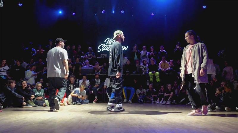 Gladi Ashpi vs Nadeen Anka Hip Hop Vibe 2018 Quarterfinal 2vs2 | Danceproject.info