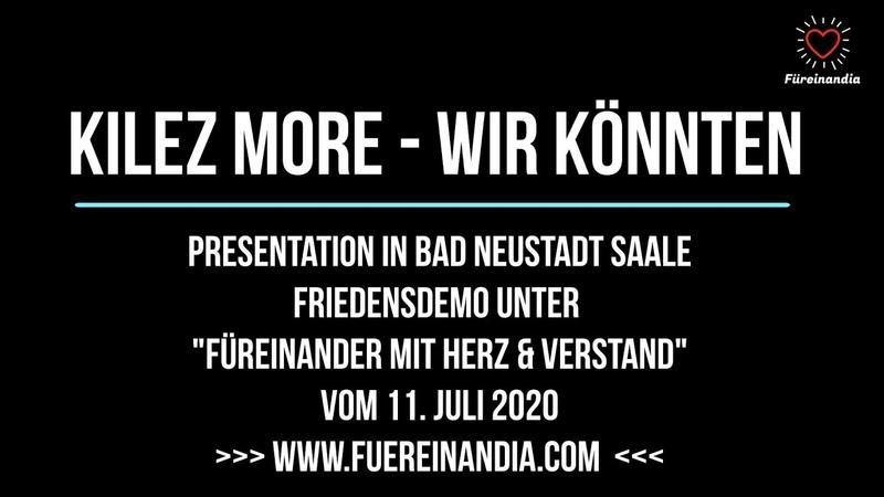 Aufruf zum 19. Juli 2020 Würzburg Groß Veranstaltung mit Micheal Ballweg