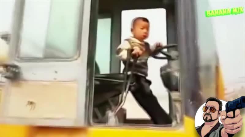 Батя за рулем!