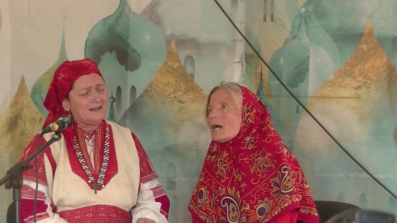 Лидия Гаврюшина. Фестиваль русской песни с.Воздвиженское 2019 г.
