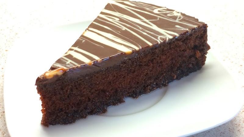 🔴МЕГА ШОКОЛАДНЫЙ ПИРОГ из знаменитой кондитерской Dolce vita Chocolate Cake Recipe
