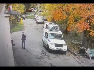 Неудачный побег из отделения полиции