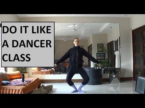 Contemporary Dance Class Exercises - Plies