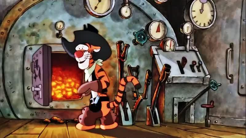 04 Тигруля с большой дороги ♥ Приключения Винни Пуха 3 сезон Мультики для детей cartoons