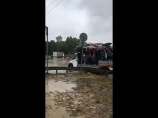 Водный коллапс в Шереметьево