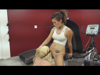 Daisy and Miley - Smell Your Masters Pussy