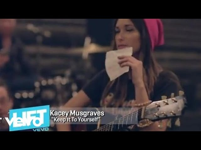 Kacey Musgraves - Round Round with Kacey Musgraves: 'Keep It To Yourself' (VEVO LIFT)