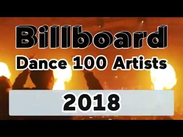 Billboard Dance 100 Artists of 2018 [TOP 100 Djs EDM Producers]