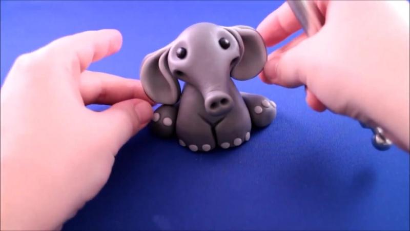 (ТОРТ-РЕЦЕПТ-VK) Слонёнок из мастики, мастер класс, лепка фигурок, как слепить слона, слон, украшение тортов, оформление тортов » FreeWka - Смотреть онлайн в хорошем качестве