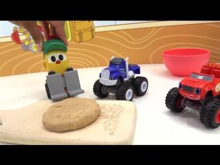 Грузовичок Лева и Машинки Вспыш/ игры для детей! День Рождения Левы! #Машинки готовят пирог
