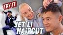 Asian short hair - mens hairstyle - Jet Li - haircut for men