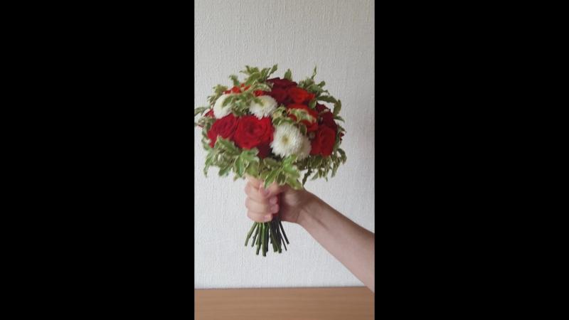 Красный букет невесты от Ваниль и корица смотреть онлайн без регистрации