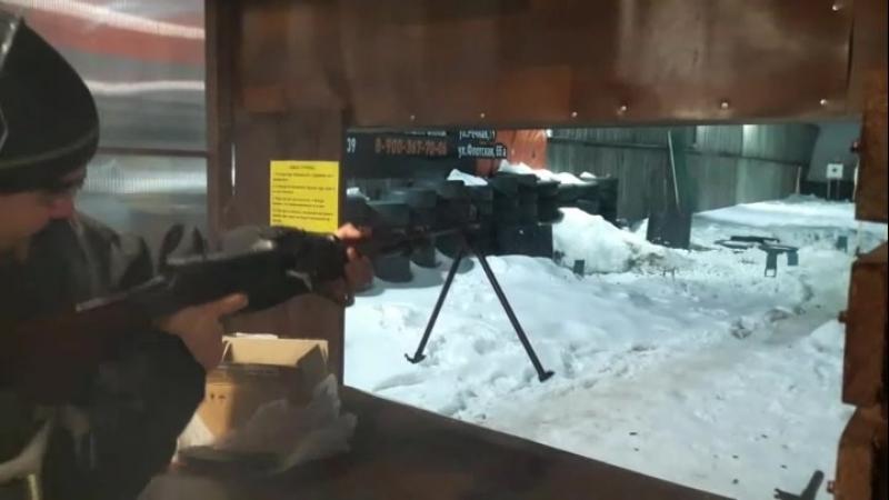 Выстрел из РПК 7.62×39