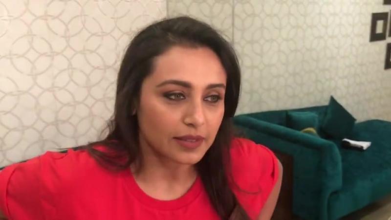 When Rani Mukerji says 'You are... - Siddharth Kannan-SID K